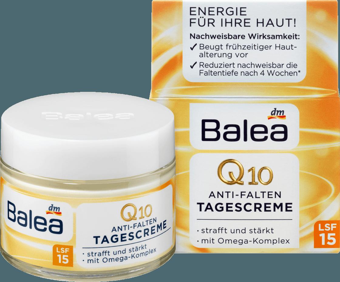 Дневной крем против морщин Balea Q10 Anti-Falten LSF 15