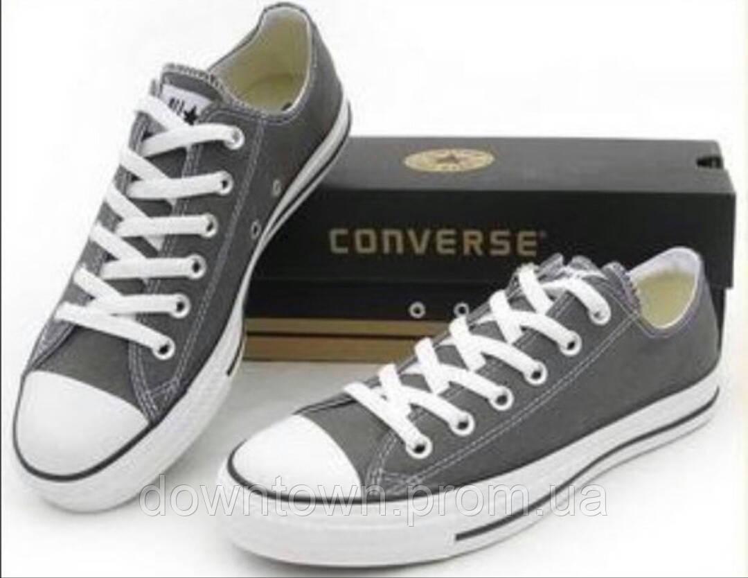b9a7db341b24 Converse all star gray low top кеды конверс серые низкие р. 37-44 ...