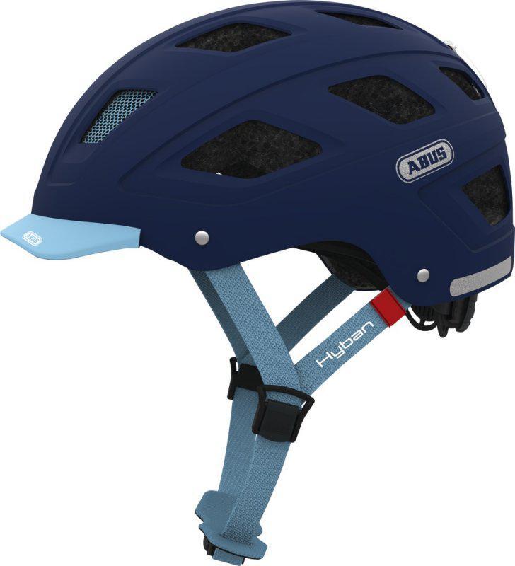 Велошлем ABUS HYBAN Core Blue (L)