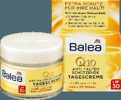 Защитный дневной крем против морщин Balea Q10 Anti-Falten LSF 30
