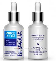 Сыворотка против акне и воспалений Pure Skin BioAqua Anti-Acne. 30 мл, фото 1