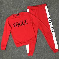 Спортивний костюм жіночий Vogue червоний