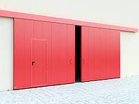 Протипожежні відкатні ворота з класом вогнестійкості EI60, EI90, фото 1