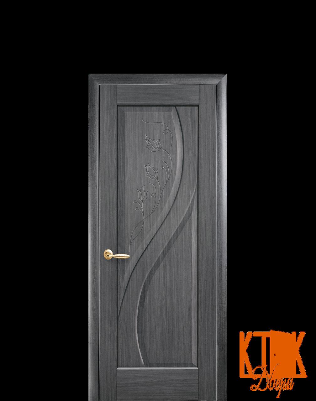 Межкомнатные двери Новый Стиль Прима ПГ (грей)