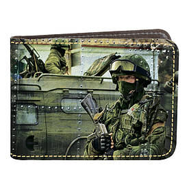 Обложка на удостоверение УБД 01 Миротворец (эко-кожа)