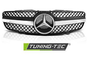 Решетка радиатора тюнинг Mercedes SL R230 стиль CL