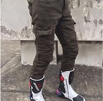 Защитные Мото штаны со сьемной защитой Komine, фото 2