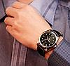 Мужские наручные часы Yazole 2018 MW324-325 Black Black, фото 3