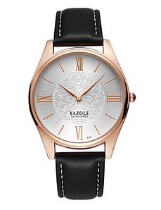 Женские наручные часы Yazole 2018 MW014-15 Black White