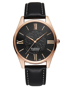 Женские наручные часы Yazole 2018 MW014-15 Black Black
