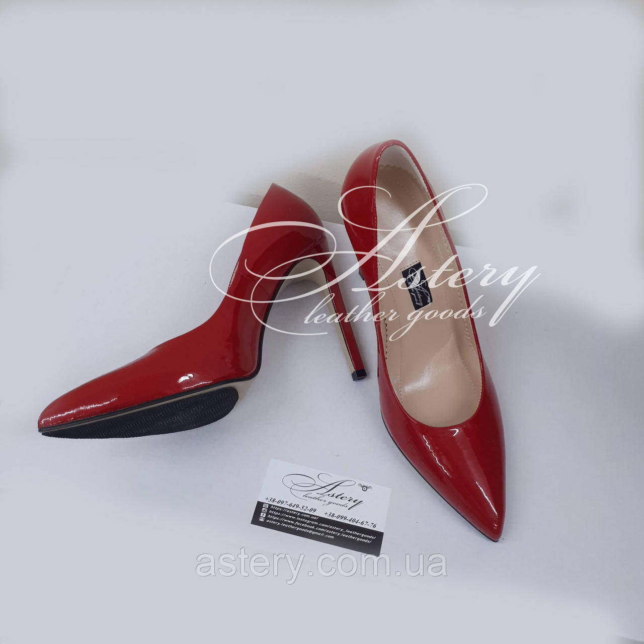 6fbb01cd8 Женские красные лаковые туфли на шпильке, цена 3 580 грн./пара, купить в  Киеве — Prom.ua (ID#679327447)