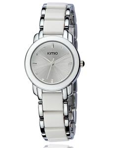 Женские наручные часы Kimio 2018 ladies watch 455 White Silver