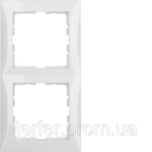 Рамка 2Х пол.білизна S.1
