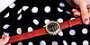Женские наручные часы Yazole WW0323-324 Blue Black, фото 2