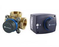 Триходові термічні клапани та електроприводи