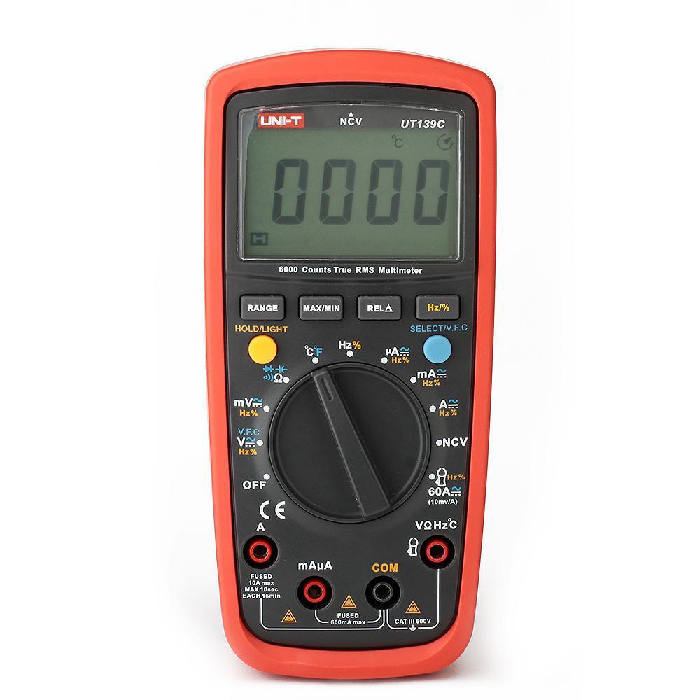 Тестер UNI-T UT139C мультиметр