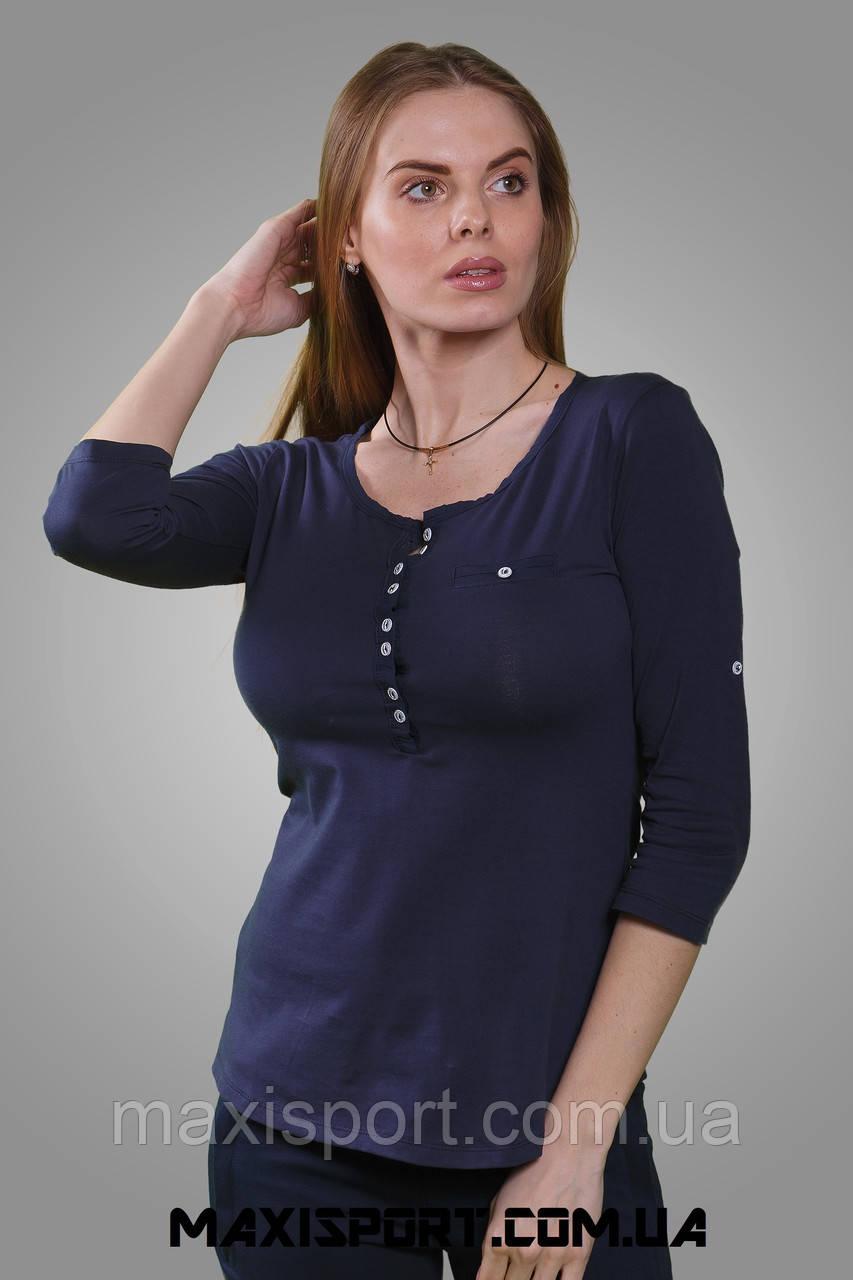 Батник женский FREEVER (0531) т.синий