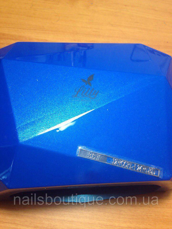 Гибридная лампа LED+CCFL 36 Вт, синяя