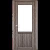 Межкомнатные двери экошпон Модель PL-01 со стеклом, фото 2