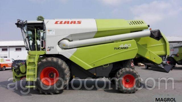 Комбайн Claas Tucano 440 + conspeed 6.75