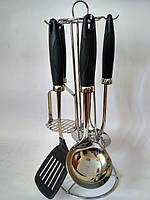 Набор кухонных инструментов Black line 6 предметов Krauff 29-44-139