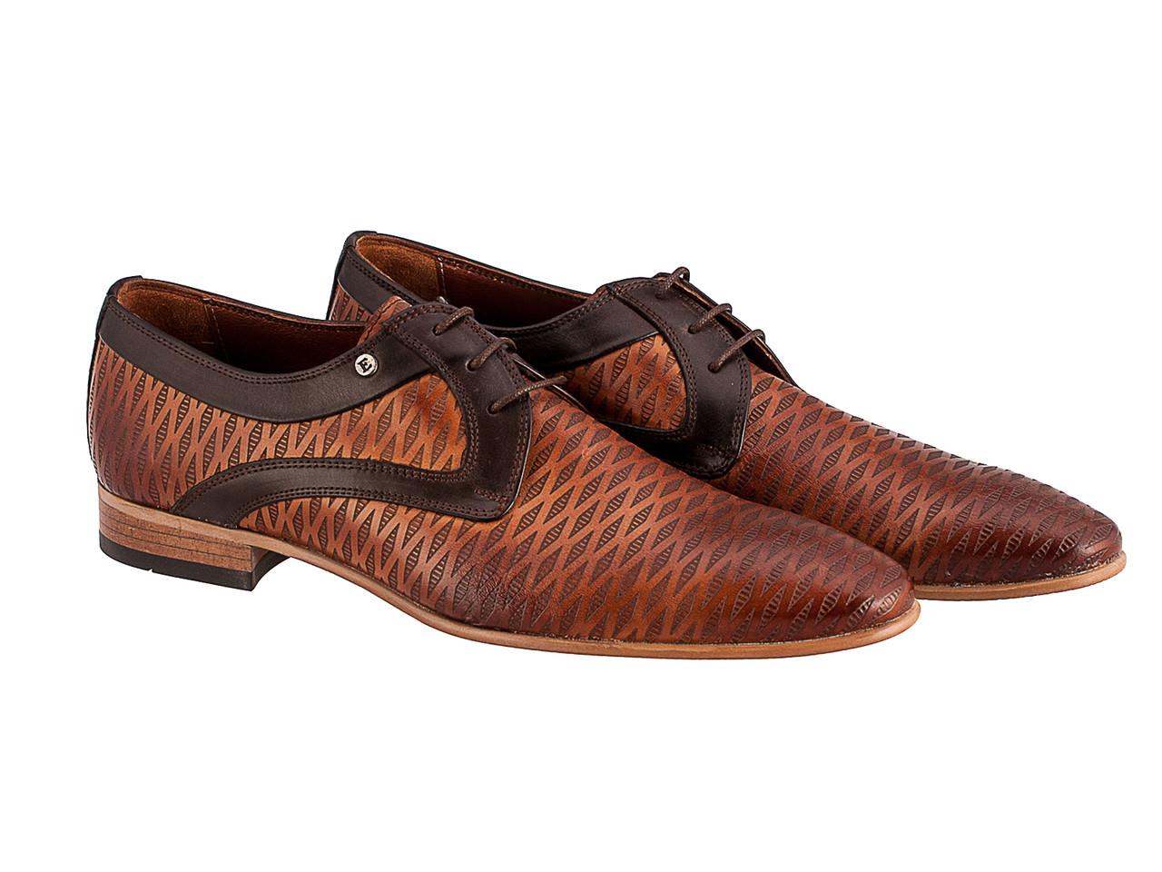 Туфли Etor 10387-5612 коричневые