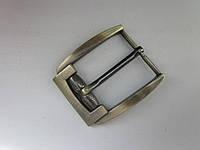 Пряжка для ремня 35 мм шлифованный антик