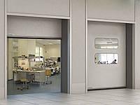 Скоростные рулонные ворота для чистых помещений серии SPEEDROLL SDCL 3000/2500мм