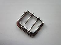 Пряжка для ремня 38 мм никель