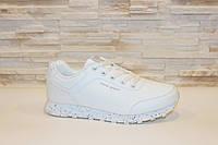 Кроссовки белые Baas Т869