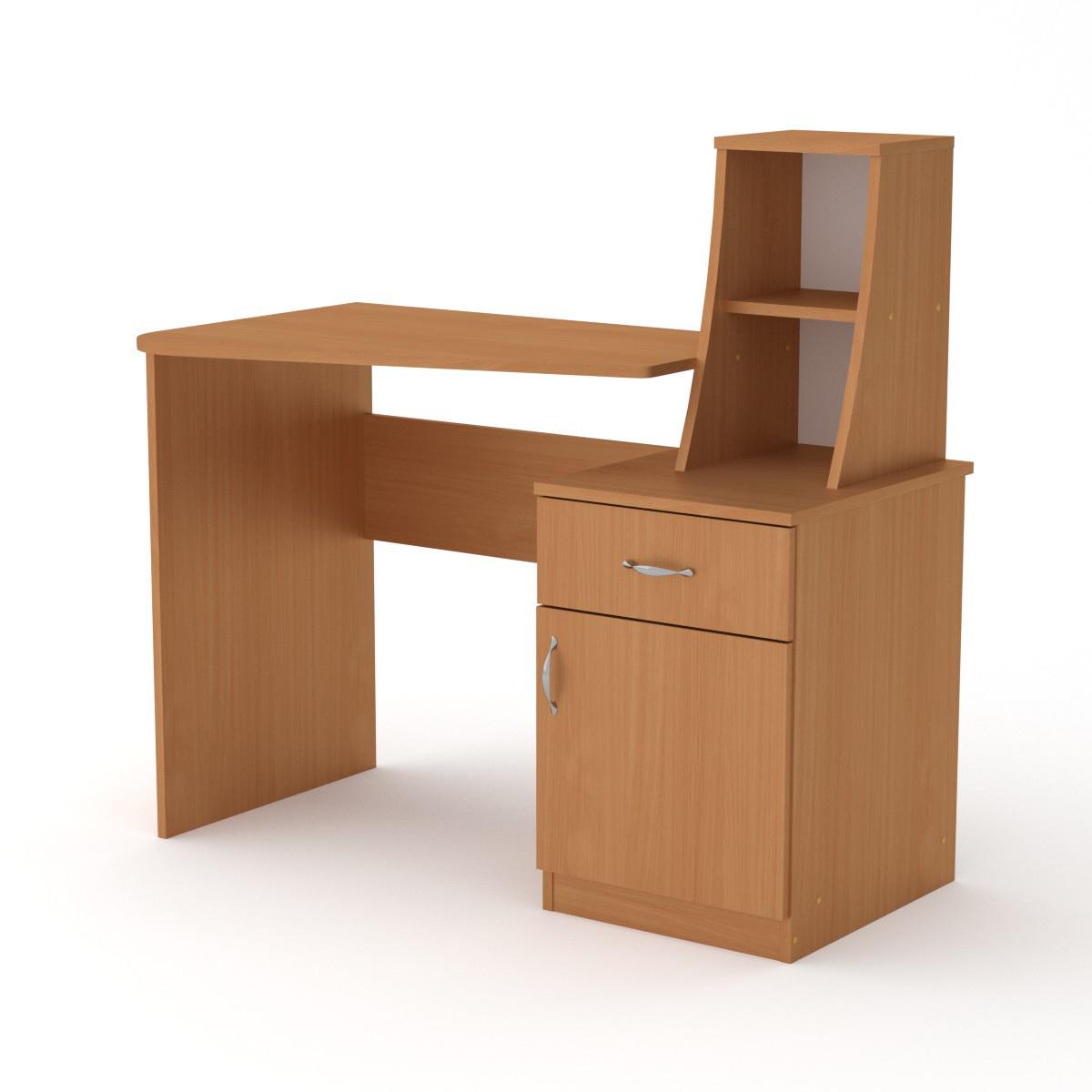 Письменный стол Компанит Школьник-3  1100х750+298х570 мм