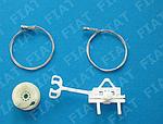 Ремкомплект стеклоподъемника FIAT Grande Punto 2005-.... (3-х дверный)
