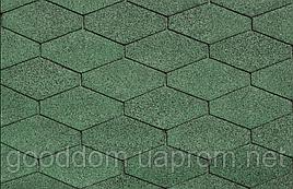 """Битумная черепица """"IKO"""", DiamantShield 03 (Amazon Green)"""