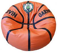 Бескаркасная мебель Кресло мяч баскетбол с вышивкой