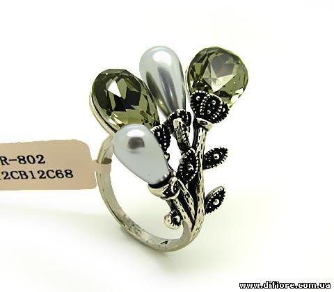 Живописное кольцо Соцветие