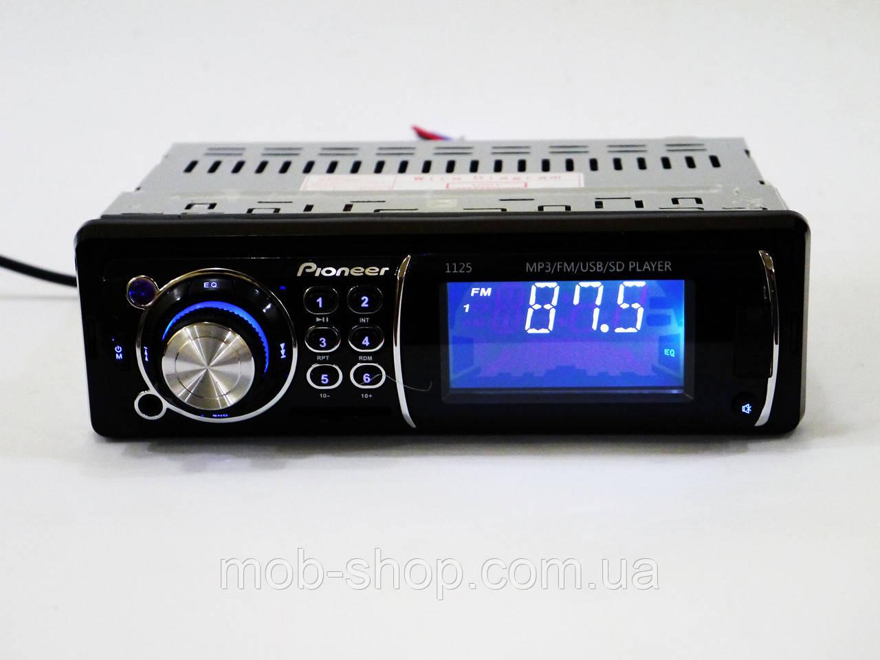 Автомагнитола пионер Pioneer 1125 MP3 USB AUX