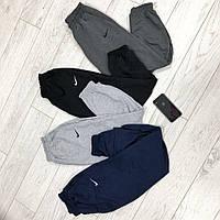 Спортивные штаны трикотажные мужские с манжетом