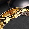 Наручные часы Miss Fox в минималистском стиле (Унисекс) Gold (21913), фото 3