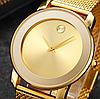 Наручные часы Miss Fox в минималистском стиле (Унисекс) Gold (21913), фото 4