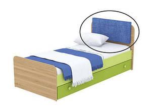 Кровать под матрас 900х1900 Кв-11-10 Акварели зеленые, фото 2