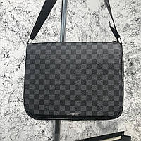Сумка Messenger Louis Vuitton District MM Damier Graphite