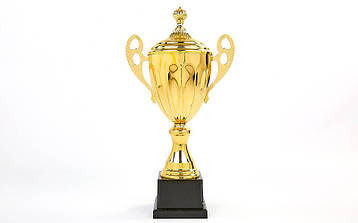 Кубок спортивный с ручками и крышкой GREAT C-4060B, фото 2