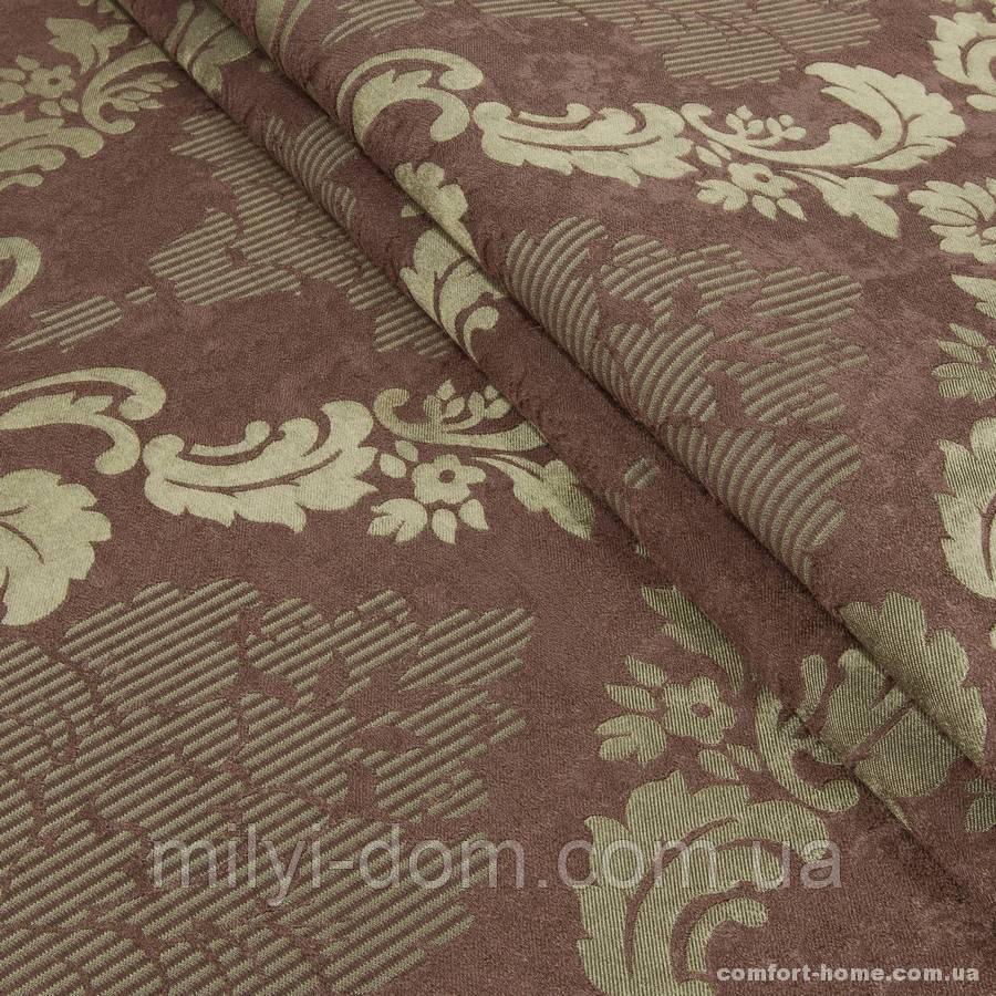 Комплект штор Dimout Venzel Gakkard Шоколад, Старая бронза, арт. MG-137943