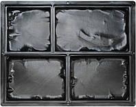 Форма для плитки тротуарной Средневековый камень 207х126х60 мм