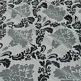 Комплект штор Dimout Venzel Gakkard Серый Перламутр-Черный, арт. MG-137972, фото 2