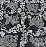 Комплект штор Dimout Venzel Gakkard Серый Перламутр-Черный, арт. MG-137972, фото 3