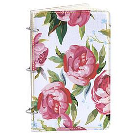 Блокнот v.1.0. А5 Fisher Gifts 181 Нарисованные розы (эко-кожа)