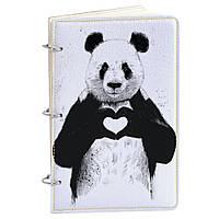 Блокнот Fisher Gifts Элегант А5 780 Панда I love you (эко-кожа)