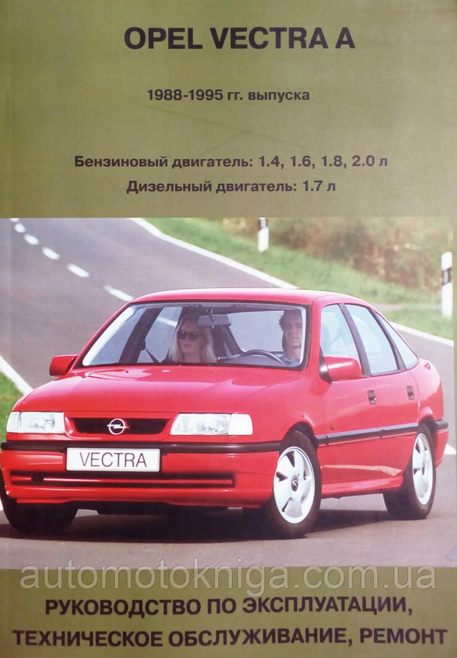 OPEL VECTRA A   Модели 1988-1995 гг.   Руководство по ремонту и эксплуатации