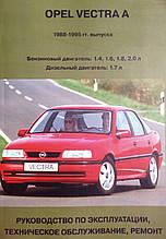OPEL VECTRA A Випуск 1988-1995 рр. Керівництво по ремонту та експлуатації